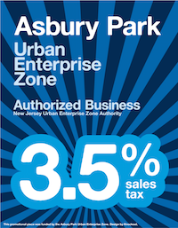 Asbury Park Urban Enterprise Zone - 3.5% Sales Tax