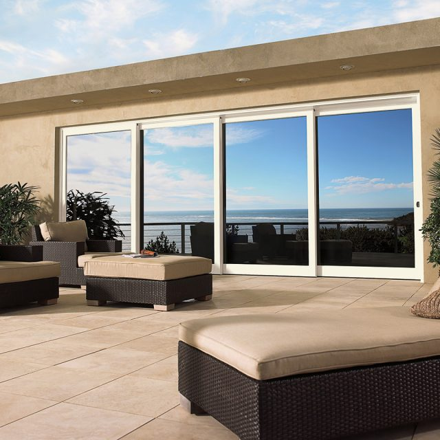Marvin Multi Slide Door Coastal Application
