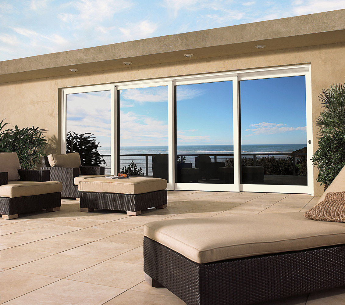 Marvin multi slide scenic doors atlantic architectural for Marvin screen doors