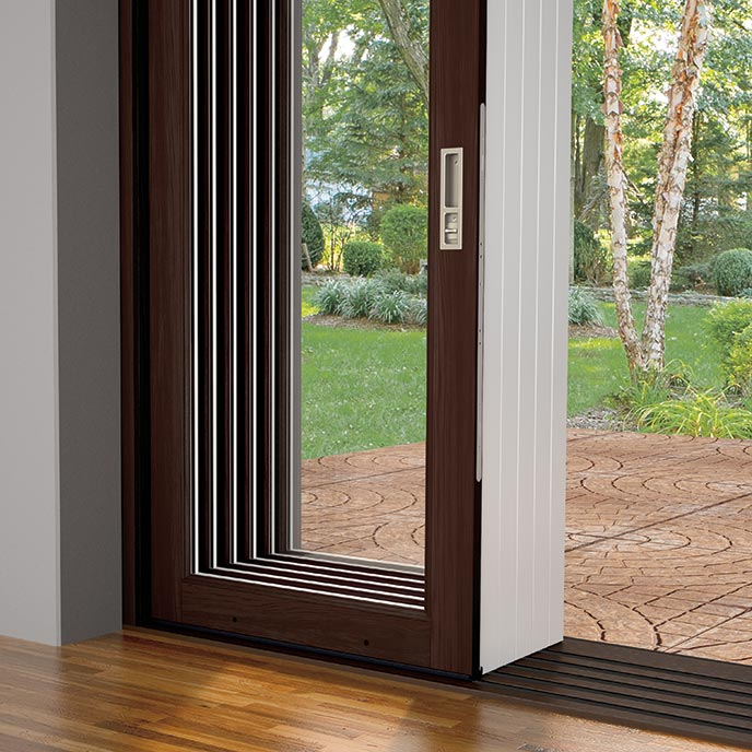 Marvin Stacked Multi-Slide Door